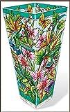 AMIA - Hummingbirds Orchard Vase Large