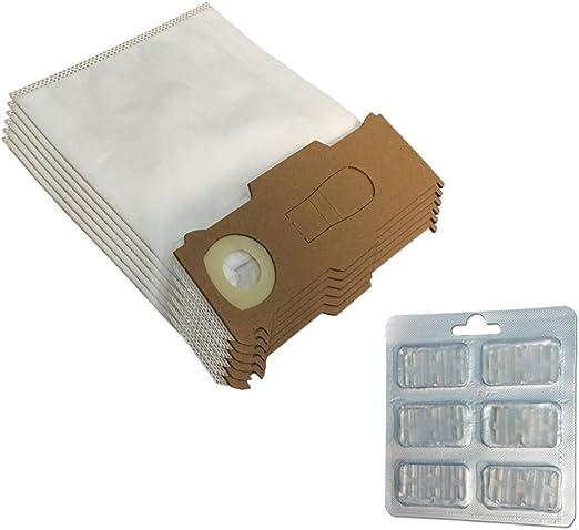 Juego 6 bolsas/bolsas (microfibra) + 6 ambientadores para ...