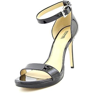 MICHAEL Michael Kors Sienna MD Women US 9 Black Sandals