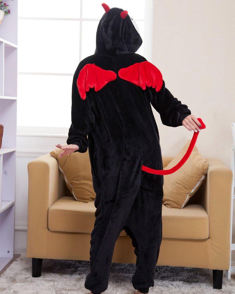 MissFox Kigurumi Pigiama Adulto Anime Cosplay Halloween Costume Attrezzatura/_Blu Unicorno/_S