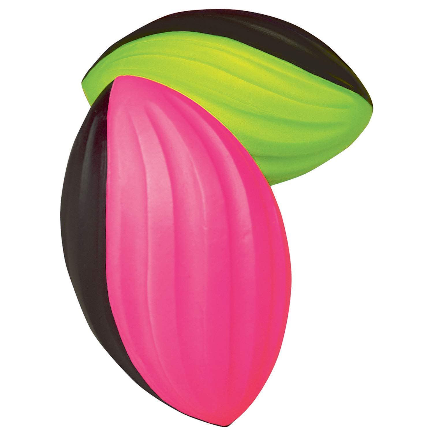 POOF Foam Mini Power Spiral Football, 5-1/2'', Pack of 6, Assorted by POOF