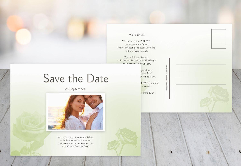 Kartenparadies Hochzeitskarte Save-the-Date Rosa, hochwertige Save the Date Karte zur zur zur Hochzeit   30 Karten - (Format  148x105 mm) Farbe  HellRosa B01MUCU576 | Große Auswahl  | Roman  | Ausgezeichnet (in) Qualität  00a6e4
