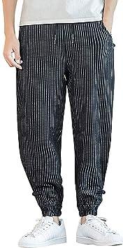 ZODOF Pantalones Hombre Pantalón Casual para Hombre Laterales a ...