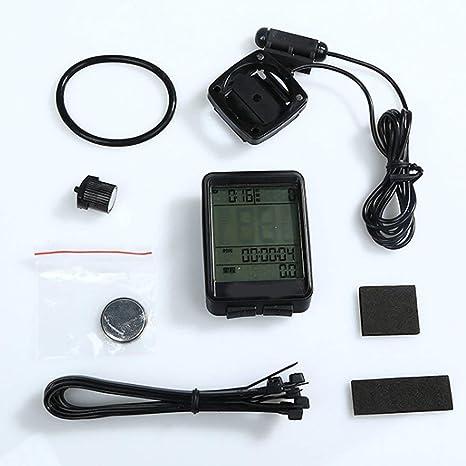 SDYDAY Bicicleta Velocímetro Odómetro, Ordenador para Bicicleta ...