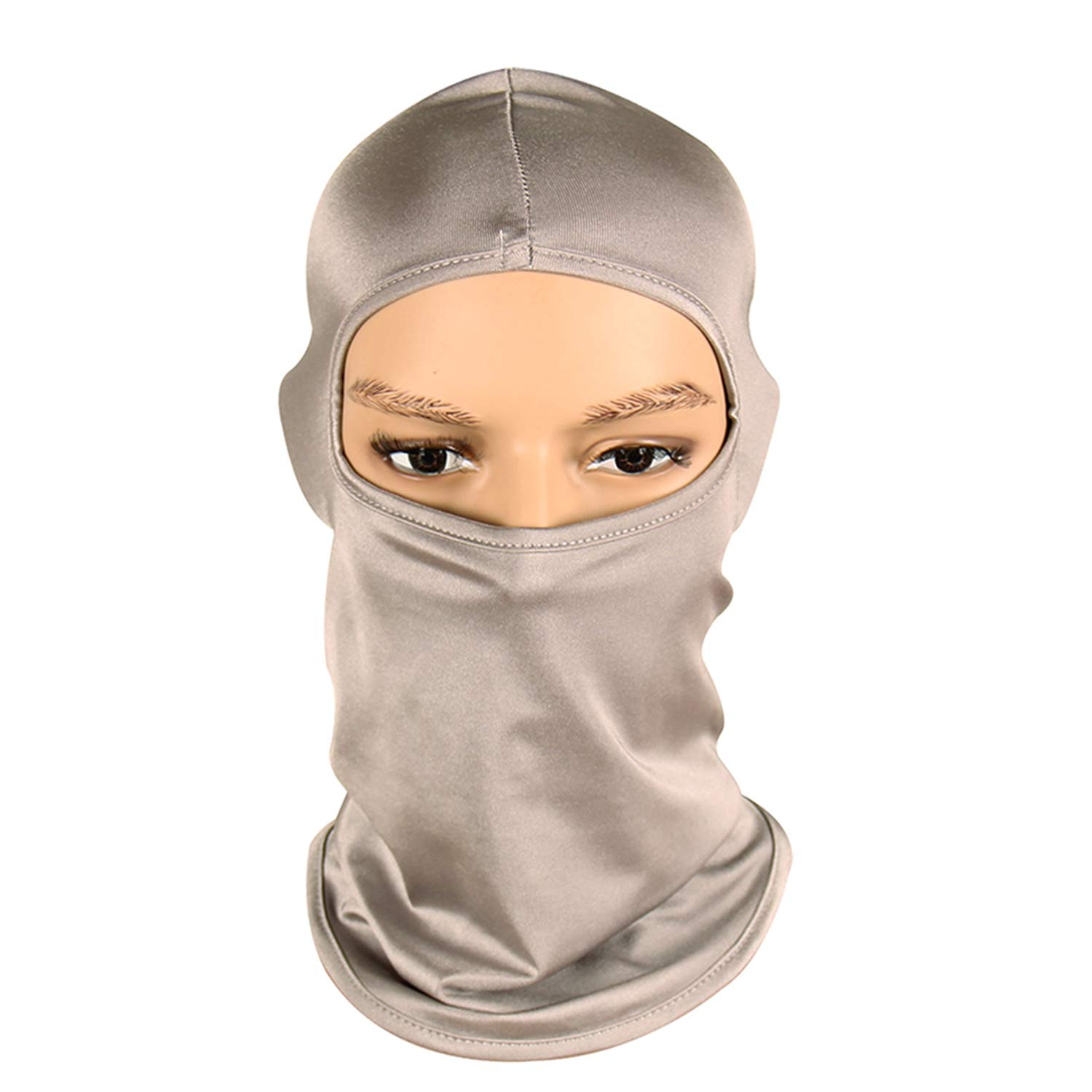 Full Face Mask Breathable Outdoor Motocross Motorcycle UV Protection Head Cover