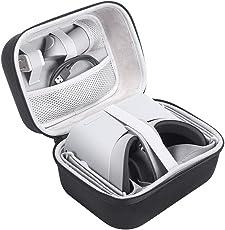 EVA Bolso Funda para Oculus Go Alternate 32GB/64GB Edition - Standalone Virtual Reality Headset,Negro Viajes Almacenamiento Funda Protectora de la Caja del Bolso para Oculus Go VR Headset (Cover Case)