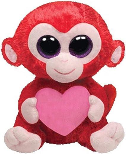 Ty Ty36104 – Peluche Beanie Boos San Valentín – Charming el Mono: Amazon.es: Juguetes y juegos