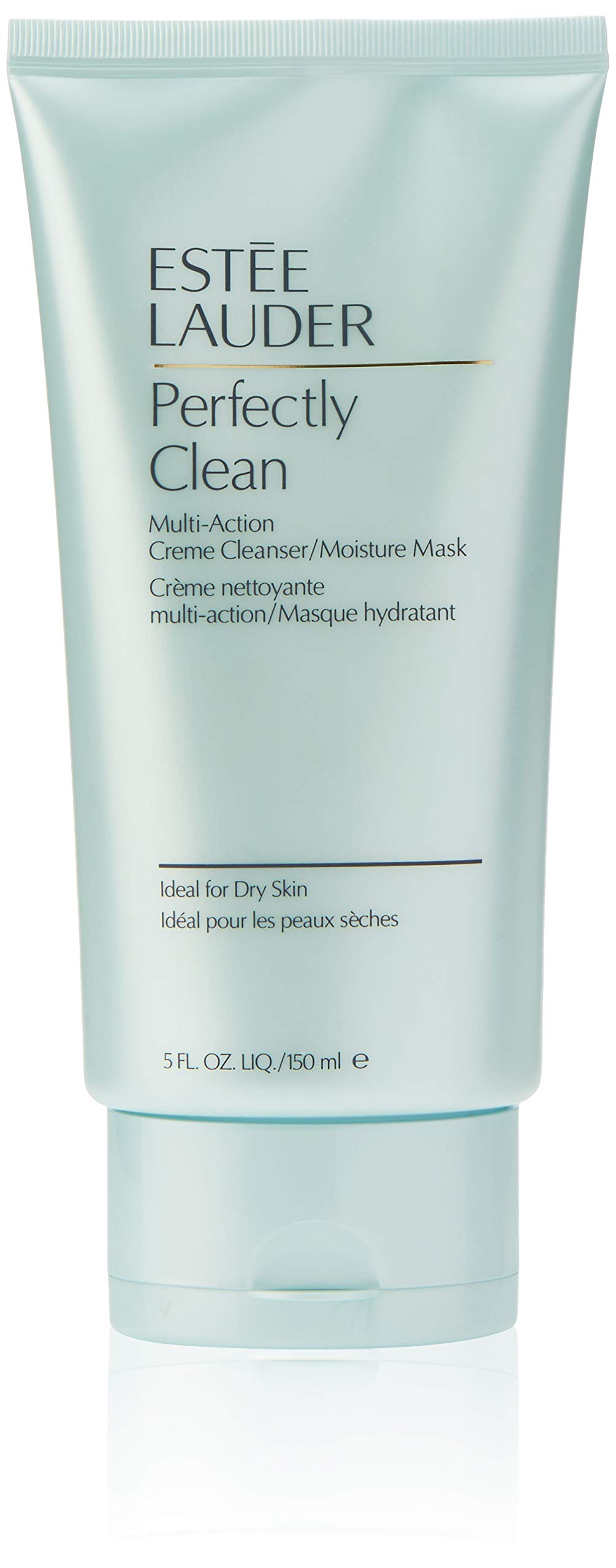 Estee Lauder | Perfectly Clean  | Multi-Action Crème Cleanser/Moisture Mask | Conditions  | Nourishes | Dermatologist and Ophthalmologist Tested | 5 oz