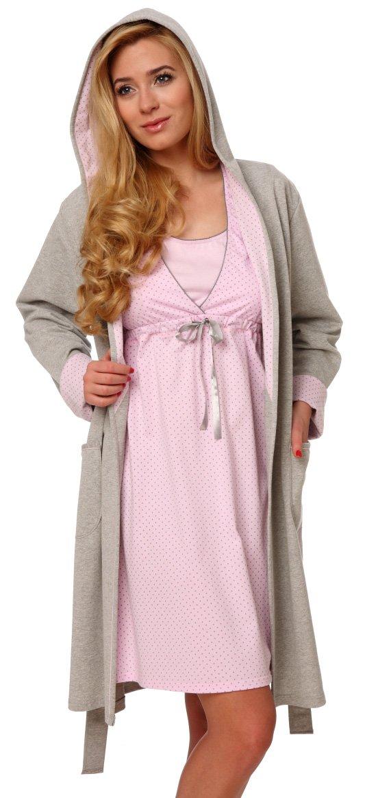 Italian Fashion IF Bata para Mujer con Capucha Komfort product image