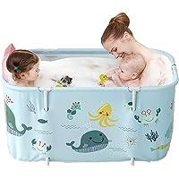 Adults Foldable Bathtubs, Portable Foldable Bathtub, Non-Inflatable Bathtub Set Portable Folding Tub Bucket Kit for…
