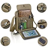 Best Man Bags - Harwish Small Men's Canvas Messenger for Outdoor Sports Review