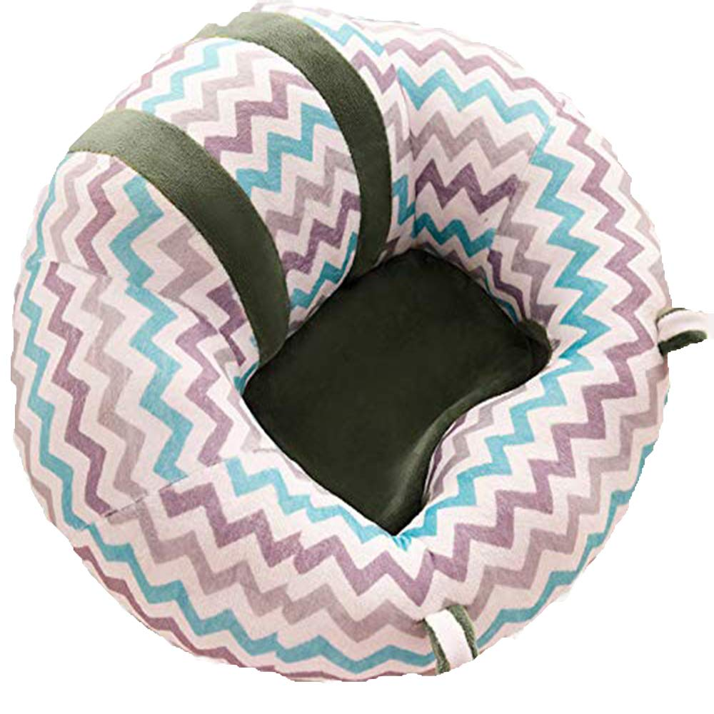 YTJSFH Baby Back Support Seat Soft Cotton Baby Dining Chair Cushion Pillow Nursing Pillow Animal U Shaped Cuddle Baby Seat Pink