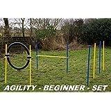 Agility - kit débutant bleu / jaune