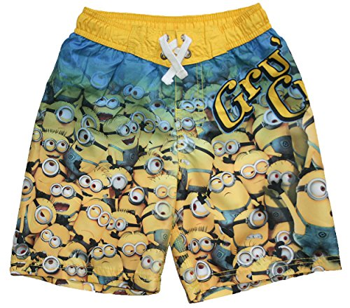 Despicable Me Big Boys Minion Swim Trunks (14/16)