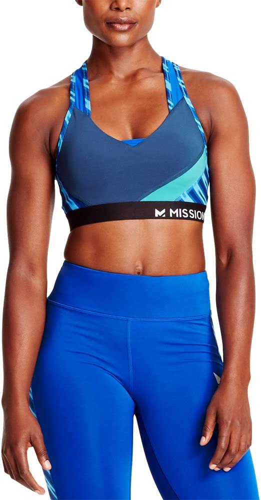Mission Womens VaporActive Celsius Crossback Medium Impact Sports Bra