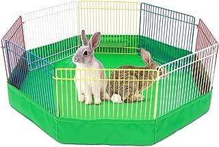 asterisknewly 8 STÜCKE Farbe Haustier Wind Zaun Hamster Spiel Pad Kleine Haustier Lüftungszaun
