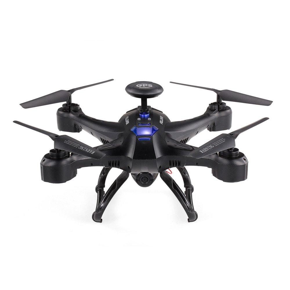 Goolsky XINLIN X191 4CH 2.0MP HD Kamera Kamera Kamera FPV Selfie Drohne GPS RTH Höhe Halten RC Quadrocopter a16541