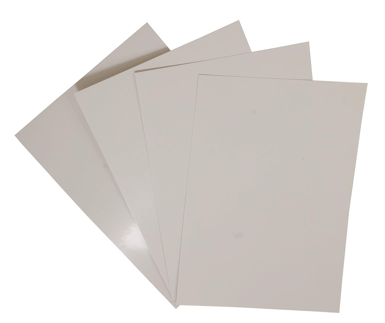 PAVO in cartoncino lucido, formato A4, confezione da 100, colore bianco 8011025