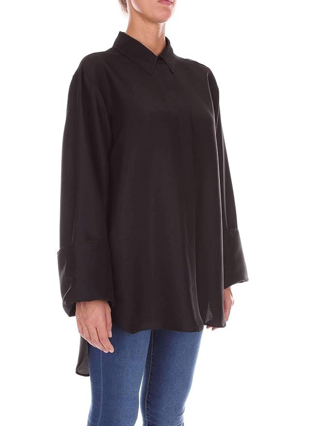 A022016200555 Camisa Ferretti Amazon Negro Seda Alberta Mujer es q4678w6P