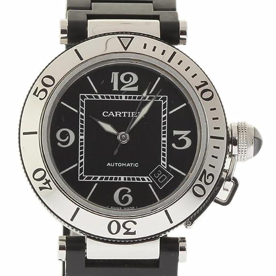 Cartier Pasha swiss-automatic reloj para hombre W31077U2 (Certificado) de segunda mano: Cartier: Amazon.es: Relojes