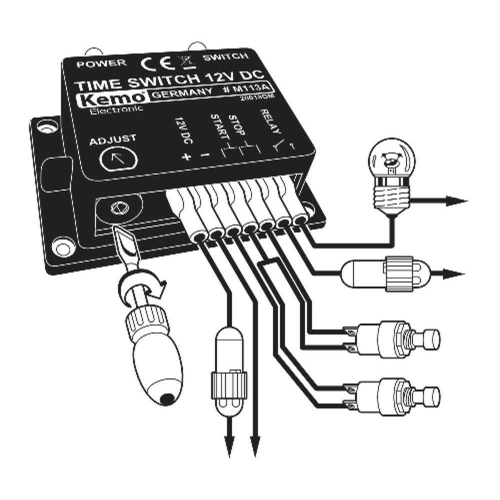 Kemo Electronic M113a Zeitschalter 12 15 V Dc Baumarkt Circuit Design Ideas Kommentar Verfassen