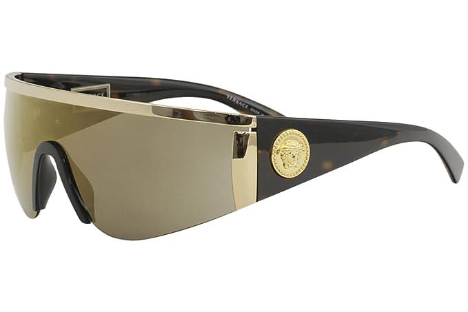 f5ffaf546b Versace - anteojos de sol para mujer, Plateado, Talla unica: Amazon ...