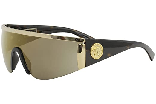 Versace Havana Ve Occhiali Sole Collection Da Gold 2197 Tribute DH2YeIWE9