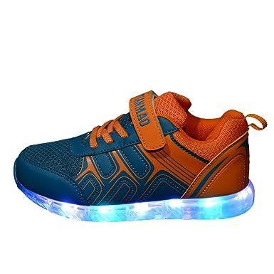 [zapatos led niños] Kidslove Invierno Zapatillas led niño Zapatos LED niña brillo led Zapatilla