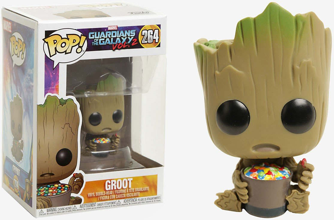 Funko Pop! Marvel Guardians of the Galaxy Vol. 2 Baby Groot #264