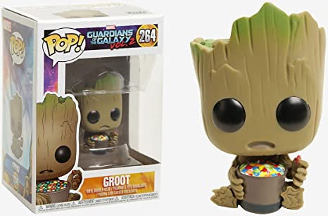 bf9db87fd28 Image Unavailable. Image not available for. Color  Funko Pop! Marvel  Guardians of the Galaxy Vol. 2 Baby Groot ...