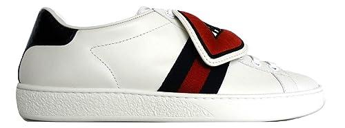 Gucci Scarpe Donna SNEKERS Blind Bianco (39 EU)  Amazon.it  Scarpe e ... 1a13ba2f3e09