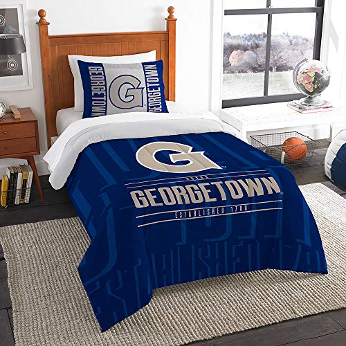 The Northwest Company Officially Licensed NCAA Georgia Bulldogs Modern Take Twin Comforter and Sham (Northwest Georgia Bulldogs Pillow)