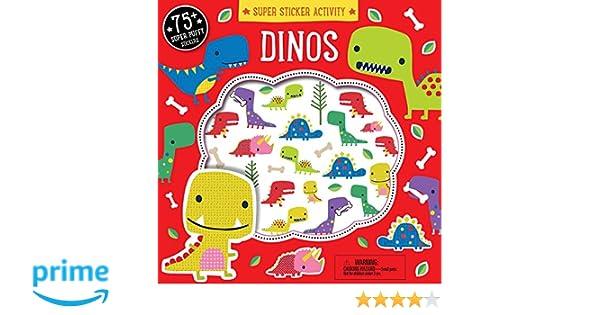Super Sticker Activity Dinos