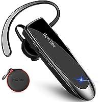 New Bee Auriculares Manos Libres, Auricular Bluetooth Inalámbrico Negocio con Micrófono Auricular para iPhone, Samsung…