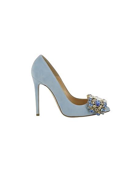 Zapatos azules celeste para mujer OPweRyaiM
