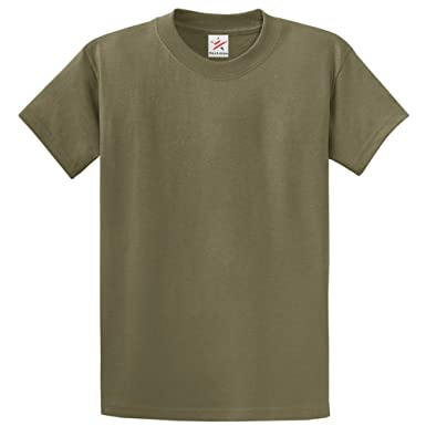 Plain Olive Green T Shirt Unisex Tshirts Olive Green Small 100% Rich Soft  Cotton T fc16cbb4fcd