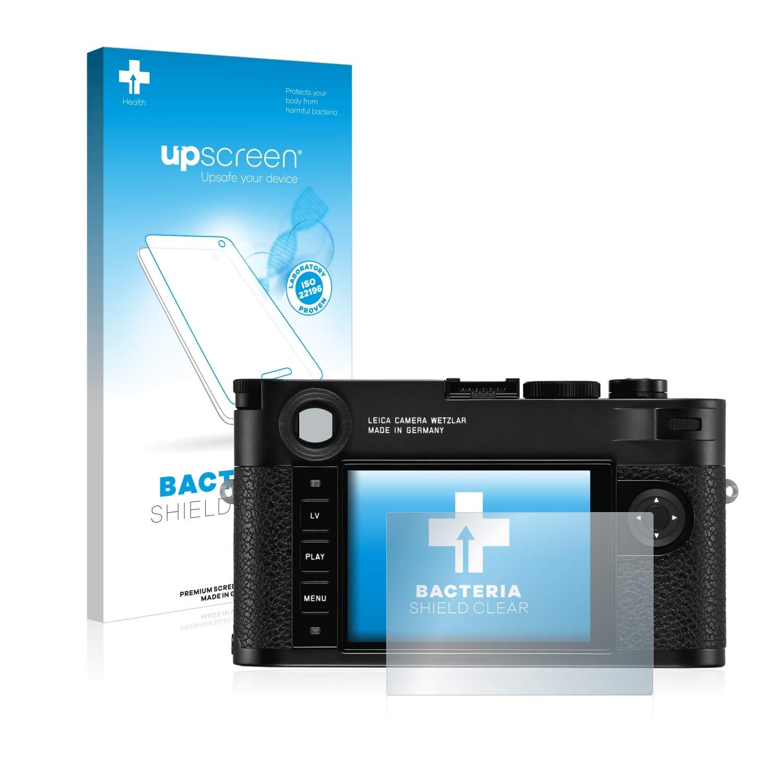 upscreen Protector Pantalla Compatible con Leica M10 Monochrom Pel/ícula Protectora Antibacteriana
