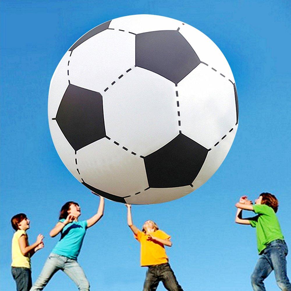 Nakital 60inch über großem riesigen aufblasbaren Strand Fußball schwimmenden Pool Fußball Ball für Party Spiel Spiel Spielzeug