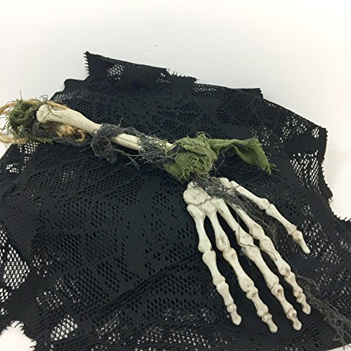 Halloween Hanging Skeleton Hand with Arm Spooky Party Decoration -