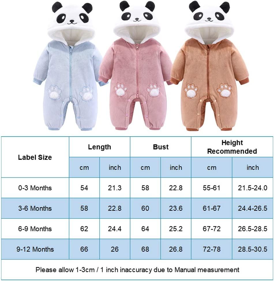 3-18 Meses Pack de 5 Beb/é Ni/ños Ni/ñas Body Mono de Manga Larga Mameluco Algod/ón Peleles Pijama Regalo de Recien Nacido