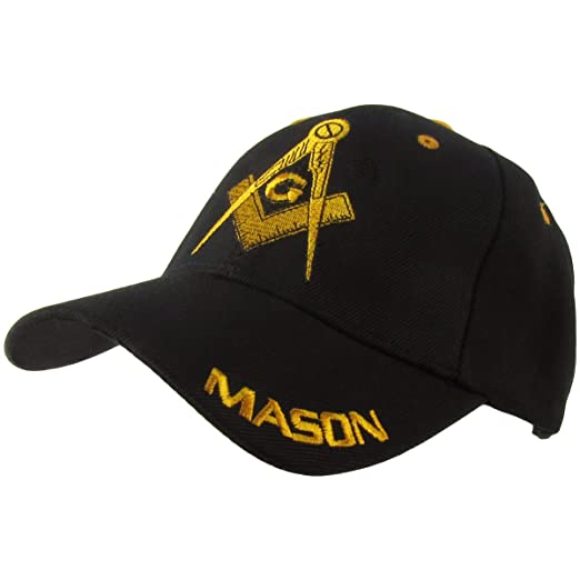 MASON Masonic Ball Cap Adjustable Freemason Golf Baseball Hat ... 239815bf134