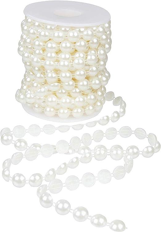 Pearl Garland - Bobina de perlas semiredondas para manualidades ...