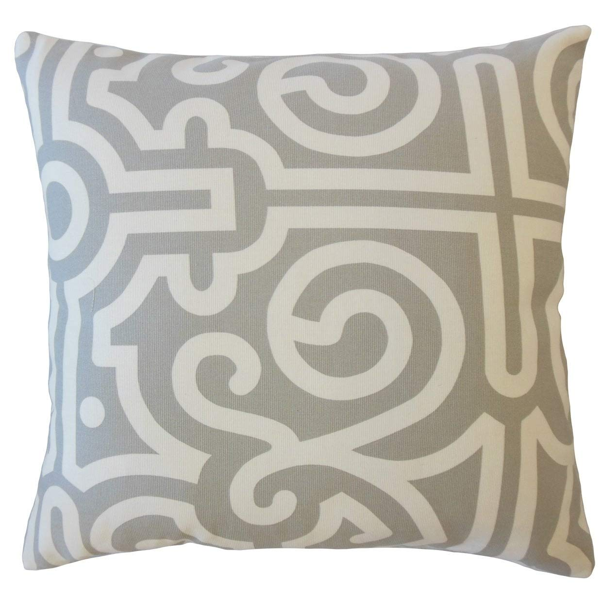 Amazon.com: The Pillow Collection Jael Geometric Down ...