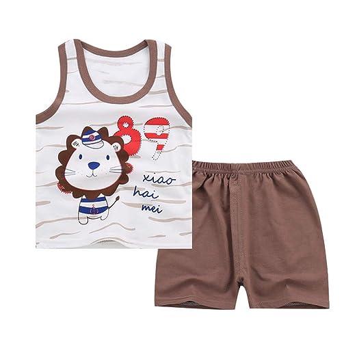 83155d0c826c Amazon.com  💝💝Baby Boys Summer Pajamas Sets