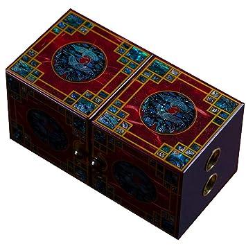 irugh Joyero, Caja de Almacenamiento de Madera, China, Caja de vestidor, joyero, joyero de Cuentas Abiertas: Amazon.es: Hogar
