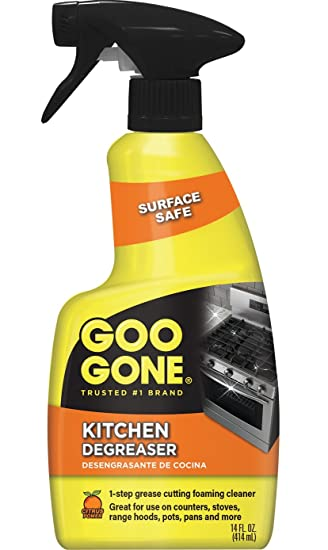 Incredible Goo Gone Kitchen Degreaser Removes Kitchen Grease Grime And Baked On Food 14 Fl Oz 2047 Download Free Architecture Designs Intelgarnamadebymaigaardcom
