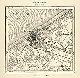 1882 Relief Line-block Belgium North Sea