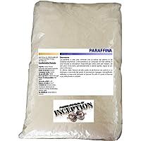 Inception Pro Infinite Cire de Paraffine Parfaite pour la Fabrication de Bougies, 1 kg - Blanc