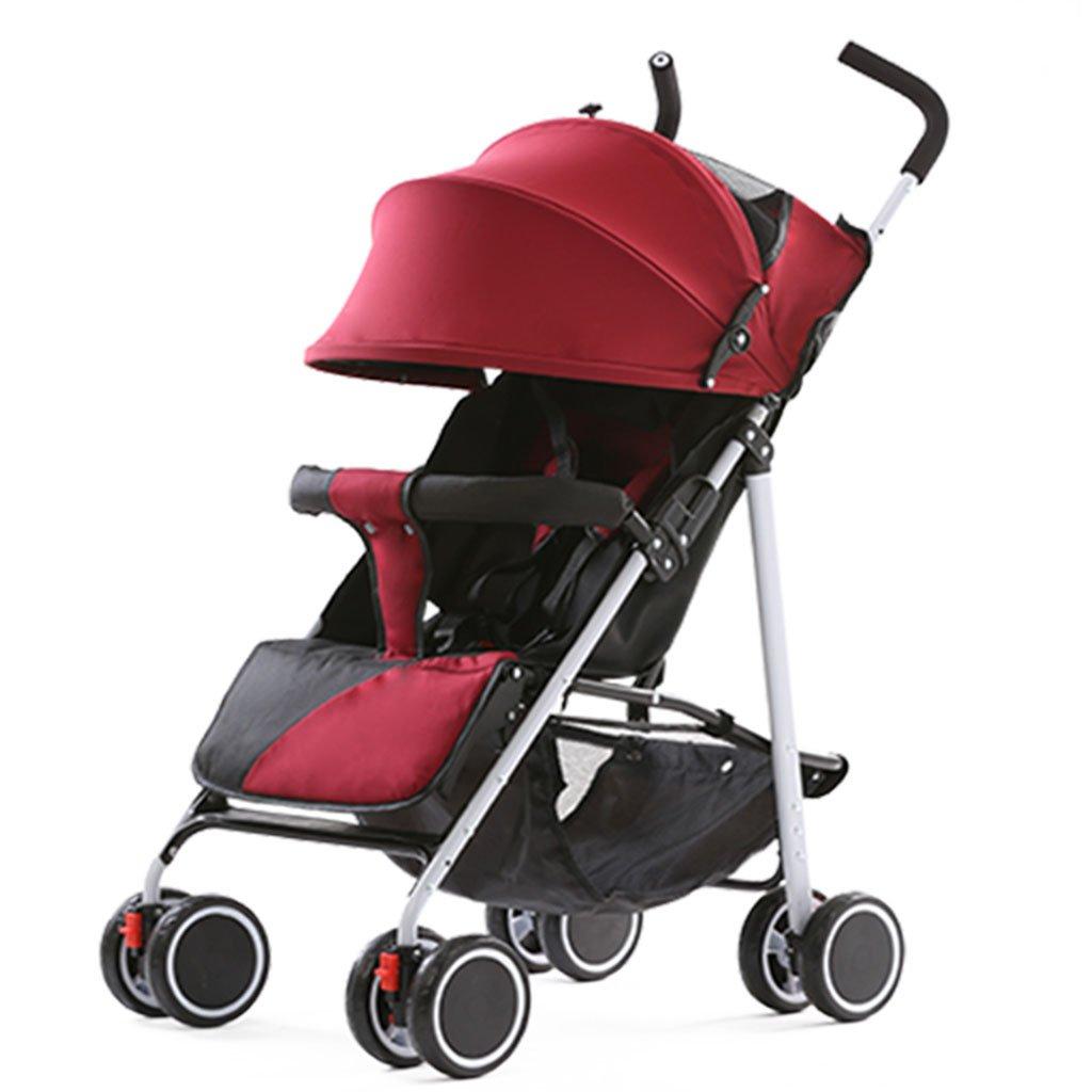 QQB &Carro Plegable Carretilla portátil de bebé portátil Multifuncional portátil Puede Sentarse y colapsar (Color : 2#): Amazon.es: Hogar