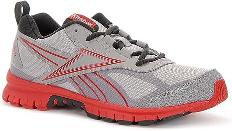 Reebok para Hombre Rincon Trail Zapatillas de Running – Color Gris/Rojo, Grey,Red, 10 UK: Amazon.es: Deportes y aire libre